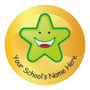 Back To School Personalised Stickers