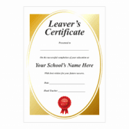 School Leavers