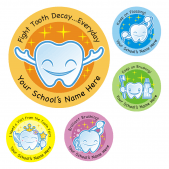 Dental Care Sticker Set 2