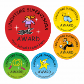 Lunchtime Supervisors Award Stickers