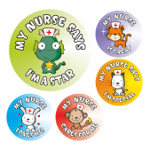 Nurses Award Stickers