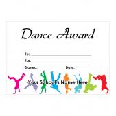 Dance Certificate Set 2