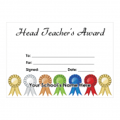 Head Teacher Certificate Set 2