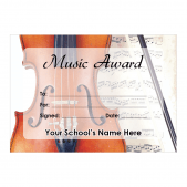 Music Certificate Set 1