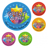 Star Work Stickers