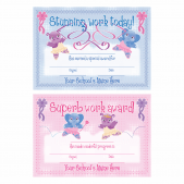A5 Ballerina Certificates