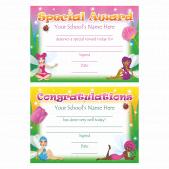 A5 Fairy Certificates