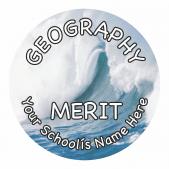 Geography Reward Stickers - Photographic