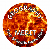 Geography Reward Stickers - Photographic