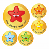 Customised Star Stickers