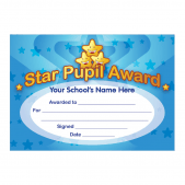Star Pupil Award Certificates