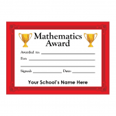 Maths Certificate Set 3