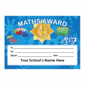 Maths Certificate Set 4