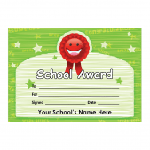 School Award Certificates