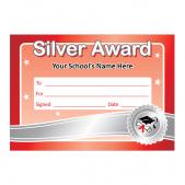 Silver Award Certificates
