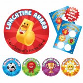 Collectable Lunchtime Stickers and 60 Free Collection Charts