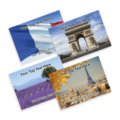 French Praise Postcards