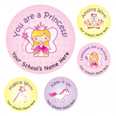 Princess Reward Stickers