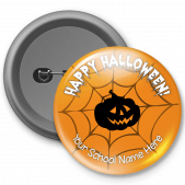 Happy Halloween Customized Button Badge