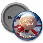 Christmas Customized Button Badge