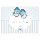 8 A6 It's a Boy! Announcement Postcards Pack