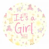 It's a Girl! - Elephant Design