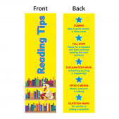 Reading Tips Bookmarks Set 2