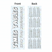 Times Tables Bookmarks