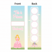 Princess Castle Sticker Collection Bookmarks