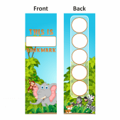 Safari Sticker Collection Bookmarks