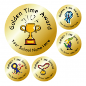 Golden Time Stickers