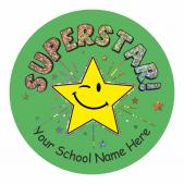Superstar Sparkly Stickers