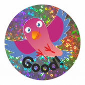 Sparkly Bird Praise Stickers