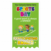 Sports Day Ribbons Stickers
