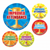 Improved Attendance Stickers