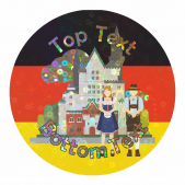 Sparkly Germany Stickers