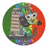 Sparkly Italy Stickers