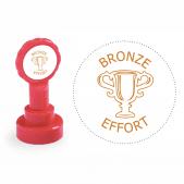 Xclamation Bronze Effort Stamp