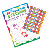 A3 Rainbow Reward Charts and Stickers