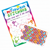 A4 Rainbow Reward Charts and Stickers