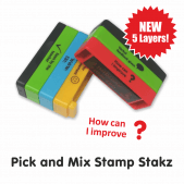 Pick and Mix Stamp Stakz - 5 Bricks