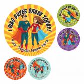 Superhero Bravery Stickers