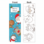 Teacher Says Colour Me Bookmark - Design 1