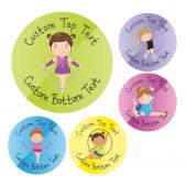 Customisable Rhythmic Dance Stickers