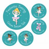 Fantastic Dancing Award Stickers