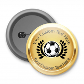 Football - Customised Button Badge