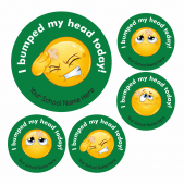 Bumped Head Emoji Stickers