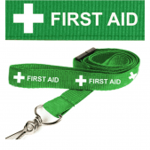 First Aid Lanyard in Green