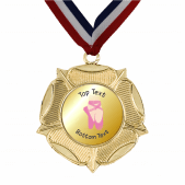 Gold Medal & Ribbon - Ballet Dance