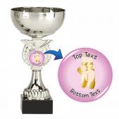 Silver Cup Trophy - Ballet Dance